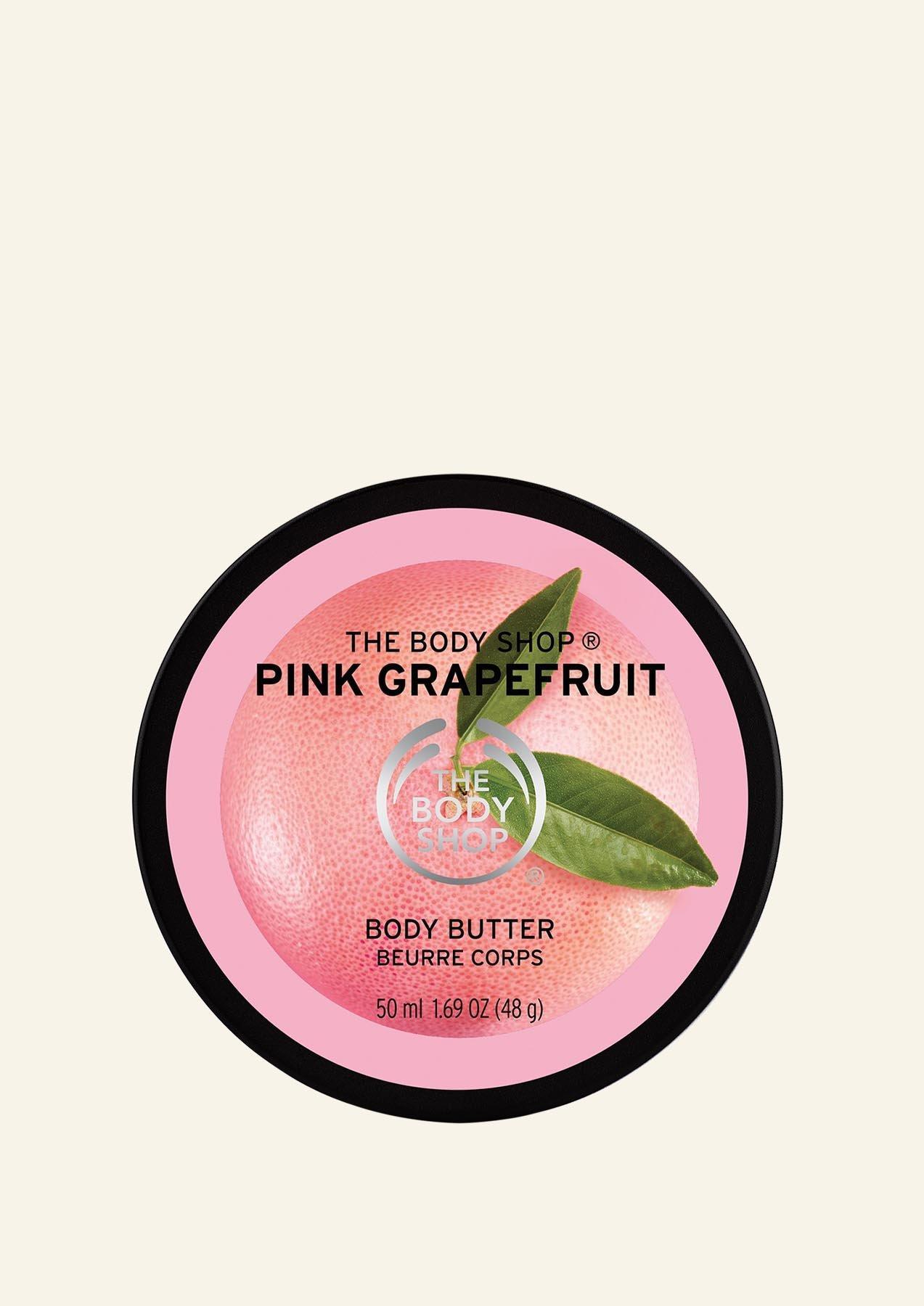 [미니] 핑크 그레이프후룻 바디 버터 50ML