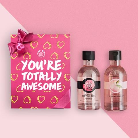 핑크&로즈 샤워젤 2종 선물세트