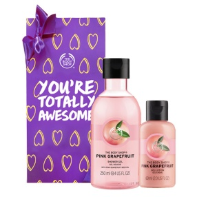 [추석선물] 핑크 그레이프후룻 바디케어 선물세트