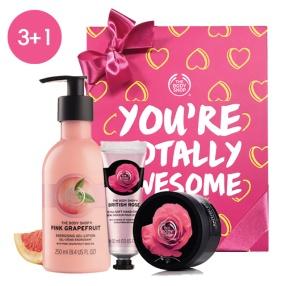 핑크&브리티쉬 3+1 선물세트